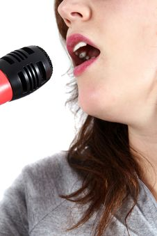 Free Singing A Song Stock Photo - 4104270