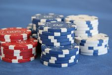 Free Pokerchips 2 Stock Images - 4104274