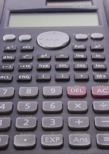 Free Calculator Royalty Free Stock Photos - 4104818