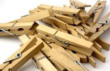 Free Wood Tweezers Stock Images - 4105504