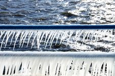 Free Icicle Railing Royalty Free Stock Photography - 4105677