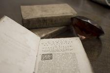 Libro Antico 1700 Stock Images