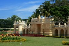 Free Royal Palace At Mysore-XXX Stock Images - 4106564
