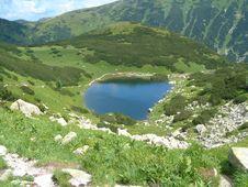 Free Tarn On Mountains Stock Image - 4107891