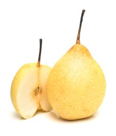 Free Ripe Juicy Pears Royalty Free Stock Photography - 4108277