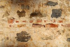 Free Old Wall Background Horizontal Stock Photos - 4109033