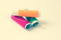Free Sewing Threads And Needle Background Royalty Free Stock Image - 41031496