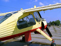 Free Training Plane Royalty Free Stock Photos - 4116668