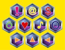 Free Computer Icon Stock Photos - 4110123