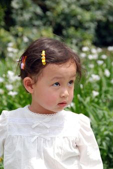 Free Beautiful Girl In White Stock Photos - 4110833