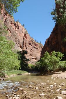 Zion Royalty Free Stock Photography