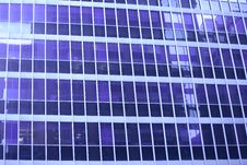 Free Blue Skyscraper Window Detail Royalty Free Stock Photos - 4111838