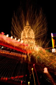 Pagoda Of A Chinese Temple Zooming Effects
