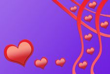 Free Flowing Hearts 3 Royalty Free Stock Photo - 4113095