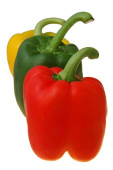 Free Red,green And Yellow Peppers Stock Photography - 4113752