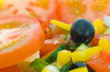 Free Fresh Greek Salad Royalty Free Stock Image - 4114646