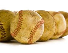 Vintage, Antique Baseballs
