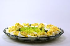 Free Deviled Eggs Royalty Free Stock Photography - 4115087
