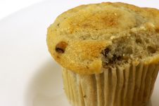 Free Banana Nut Muffins Stock Photo - 4115130