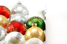 Free Christmas Ornaments Stock Photo - 4115260