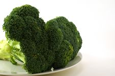 Free Raw Broccoli Stock Photo - 4115470