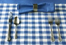 Free Table Setting Royalty Free Stock Photo - 4115765