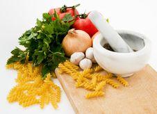 Free Tomato Pasta Ingredients Stock Photos - 4116533