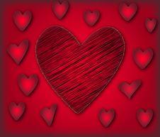Free Valantine Background Vector Royalty Free Stock Photos - 4116738
