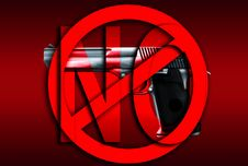 Free No Guns Stock Image - 4117961