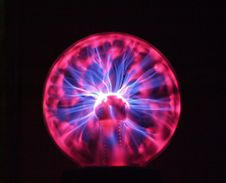 Free Plasma Lamp Stock Photography - 4118062