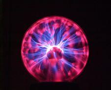 Free Plasma Lamp Stock Photography - 4118062