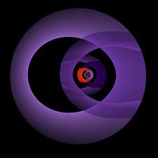 Free Purple Eclipse Stock Image - 4119231