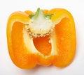 Free Half Yellow Pepper Stock Photos - 4129473