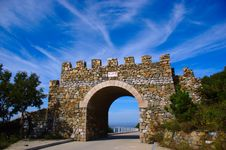 Free Ancient Stone Gate Stock Images - 4120224