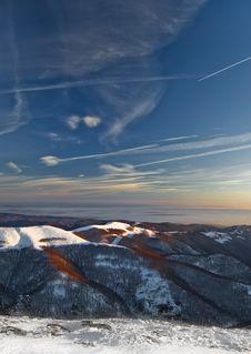 Free Mountain Sunrise Royalty Free Stock Photo - 4120395