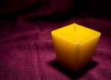 Free Candle Yellow Royalty Free Stock Photo - 4120775