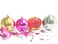 Free Christmas-tree Decorations Stock Photo - 4121170