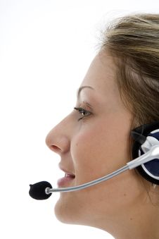 Free Business Woman Calling Stock Photos - 4121653