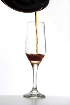 Free Glass Of Wine Royalty Free Stock Image - 4121696