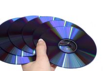 Free Fan From Compact Discs Stock Image - 4122021