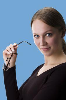 Free Business Woman, Portrait Stock Images - 4122234