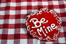 Free Love Cookie Stock Photography - 4122292