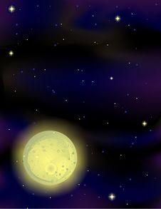 Free Nightsky Background Stock Image - 4122731