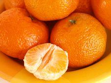 Free Tangerines Royalty Free Stock Photos - 4123038