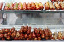 Free Tomatoes On Sticks Stock Photo - 4123090