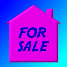 House For Sale Stock Images