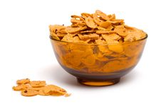 Free Bowl Of Cornflakes Stock Photo - 4123730
