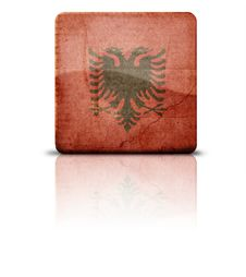 Free Flag Of Albania Royalty Free Stock Images - 4124909