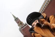 Free Girl In Kremlin Stock Photography - 4125112