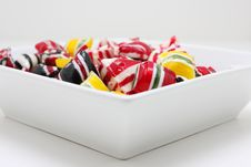 Free Candy Bowl Stock Image - 4125571